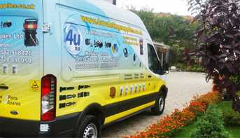 4U Valeting Supplies Van